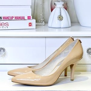 MICHAEL Michael Kors Nude Patent Leather Size 8.5